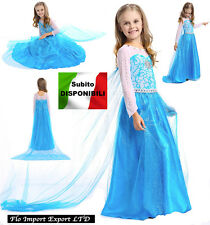 Frozen - Vestito Carnevale Elsa Dress up Costumes 789007BELUX