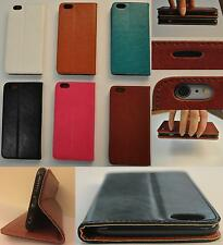 iPhone Cover Case PU Leather Magnetic Flip Stand Wallet Apple Models