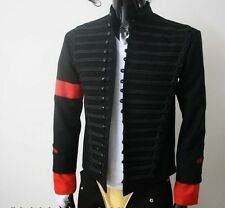 MICHAEL JACKSON MTV AWARDS JACKET MILITARY MJ PARTY COSTUME