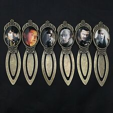 Hobbit / Lord of the Rings Movie Film Quality Metal Bookmark J R R Tolkien *NEW*