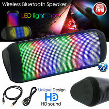 BLUETOOTH WIRELESS PORTABLE SPEAKER SUPER BASS FOR IPHONE IPOD IPAD SAMSUNG LED