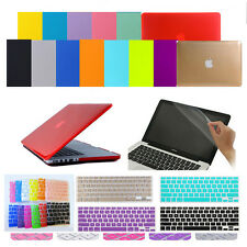 "3in1 Crystal Hard Case Cover Skin for MacBook Air Pro Retina 11"" 13"" 15""inch"