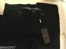 BRAND NEW BLACK GUCCI MENS BLACK JEANS ALL SIZES
