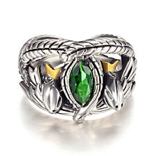 Bague Barahir Aragorn Lord of The Rings Argent Massif 925 Sterling Silver chaine