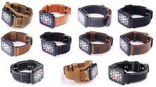 High Quality Band Handmade Real Genuine Leather iwatch Strap For Apple watch 2 3