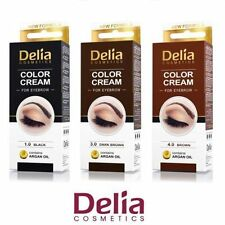 DELIA HENNA CREAM FOR EYEBROWS TINT BROWN /BLACK/GRAPHIT