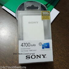 ORIGINAL SONY CP-V4A 4700mAh BATTERY POWER BANK MICRO USB PORTABLE CHARGER