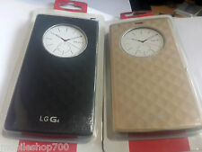 New LG G4 F500 QUICK CIRCLE S View Flip Cover Case Pouch Skin - Black&Gold