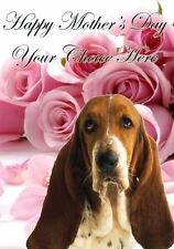 Bichon Frise Mothers Day Personalised Greeting Card pidmother Mum Mummy Love