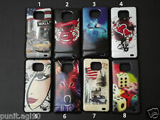 Sparkle Printed Soft Silicon Back Cover Case For Samsung Galaxy S2 SII i9100