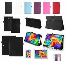 UK New Smart Leather Stand Case Cover For Samsung Galaxy Tab 4/PRO/S/S2/A/E