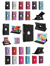 New 360 Leather Stand Case Cover For Samsung Galaxy Tab 4 Tab PRO Tab S/S2 Tab A