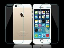 *TRANSPARENT PROTECTION SILICON*Front+Back Tempered Glass For iPhone 5/5S-6/6S