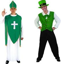 Luck of the Irish Fancy Dress Leprechaun St Patrick Day Green Football Stag
