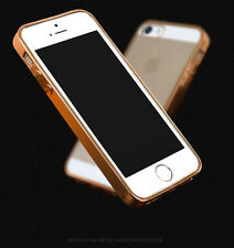 UltraSlim TPU Electroplating Transparent Clear Bumper Case Cover For iPhone 5/5S