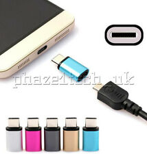 Type C USB Adapter to Micro USB 3.1 3.0 2.0 Android Mac HTC Sony Alloy Metal