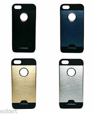 Motomo Hybrid Thin Metal Hard Back Case Cover for Apple iPhone 5S iPhone 5