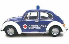 CARARAMA VARIOUS VW BEETLE model cars ambulance politezi & PTT post office 1:43