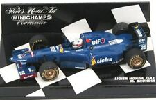 MINICHAMPS various F1 LIGIER model cars Suzuki / Panis / Brundle 1995/6 1:43rd