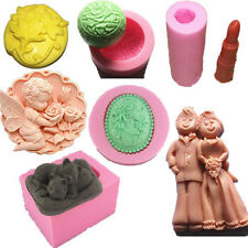 New DIY Flexible Silicone Mould Cake Mold Soap Mold Candy Chocolate Bread Mould