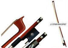 VIOLIN BOW, ANY SIZE 4/4 TO 1/16, FINE BRAZILWOOD, REAL HOURSEHAIR, UK SELLER.