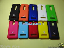 Premium Rubberized Back Hard Case,Cover,Pouch for Nokia Asha 206
