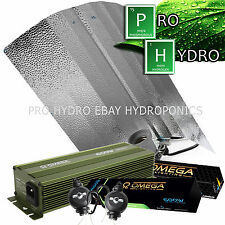 Omega 600W Digital Dimmable Super Lumen Hydroponic Light Kit HPS & MH Lamps