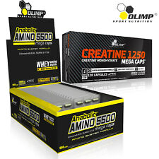 ANABOLIC AMINO ACIDS 5500 + STRONGEST CREATINE MONOHYDRATE 1250mg- Muscle Growth