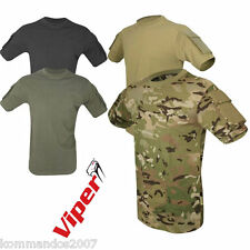 VIPER TACTICAL T-SHIRT ARMY SPECIAL OPS COMBAT MILITAY AIRSOFT COTTON TOP