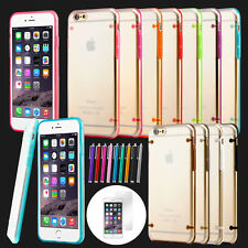 For iPhone 6S 6 Plus Case Slim Transparent Crystal Clear Hard TPU Bumper Co