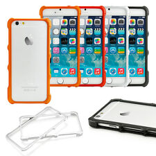 For iPhone 6 4.7 6S Ultra Thin Clear Crystal TPU Hybrid Bumper Hard Case Co
