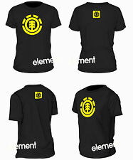 camiseta tshirt ELEMENT SKATE URBAN STREET AMARILLO YELLOW TALLA S M L XL XXL