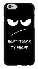 Don't Touch My Phone Fun Funny Phone Case Cover for Apple iPhone #0005