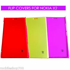 Export Quality Flip Cover Case For Nokia X2/Book Cover Case for Nokia X2 X 2