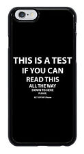 Get off my iPhone! Funny Cool Phone Case Cover for Apple iPhone #0016