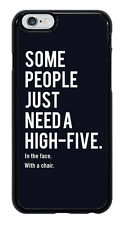 High-Five In The Face With A Chair Funny Phone Case Cover for Apple iPhone #0042