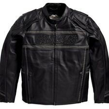Harley Davidson Men's LUMINATOR 360 Black Leather Jacket M L XL 2XL 98013-10VM