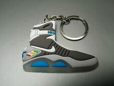 2D Nike Air Mag Keyring Keychain Glow In The Dark Back to the Future Huarache