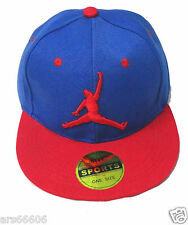 RED JORDAN LIKE DESIGN CAP THEME RED AND BLUE COMBINATION BEAUTIFUL CAP