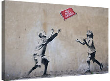 Banksy No Ball Games - Gallery Grade Canvas Art + Various sizes