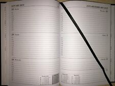 2017-2018 academic year diary A5/A4 case bound week to view/day to page 18months