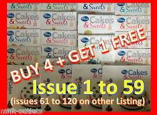 Disney Cakes And Sweets Decorating Collection magazine : ISSUES 1 TO 60