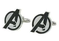 Mens Pair of Novelty The Avengers Cufflinks Marvel Super Hero