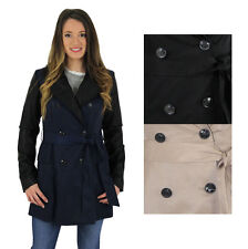 Jessica Simpson Women's Belted Spring Rain Trench Coat Jacket