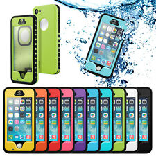 For iphone 5 5s Waterproof Case Dirt Shockproof Fingerprint Scanner Full Co