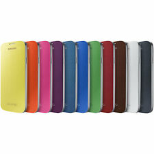 NEW Genuine Official Samsung Galaxy S4 Smart Battery Cover Flip Case