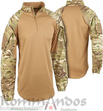GENUINE BRITISH ARMY UBACS (UNDER BODYAMOUR COMBAT SHIRT) MULTICAM AIRSOFT SHIRT