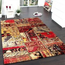 Designer Vintage Carpet Luxury Patchwork Multi Coloured Mat Kilim Design Rug