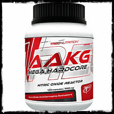 Trec Nutrition AAKG Mega Hardcore MUSCLE PUMP Nitric Oxide Reactor 120 & 240caps