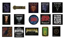 BLACK SABBATH h.i.m. FEAR FACTORY morbid angel PANTERA soulfly - SEW ON PATCH